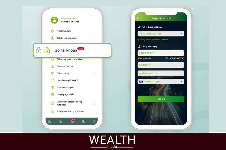 Cách 1: Chuyển tiền từ vietcombank sang agribank bằng internet banking.