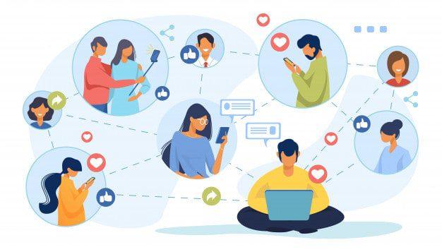 Spam mạng xã hội đòi nợ.