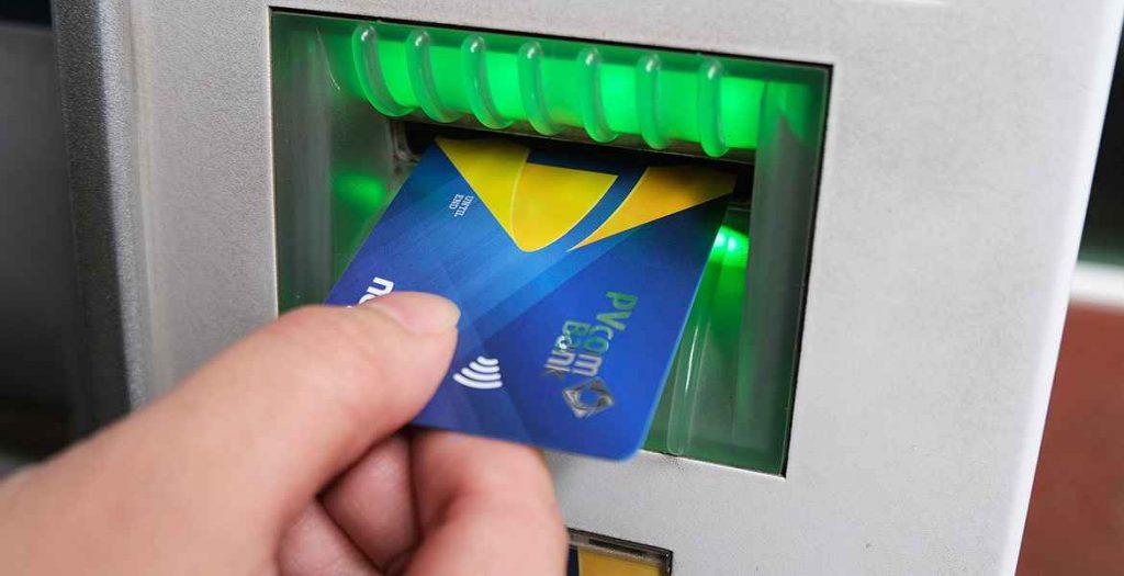 Cách sao kê bảng lương tại cây ATM.