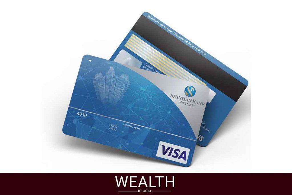 Thẻ Ngân hàng Shinhan Bank