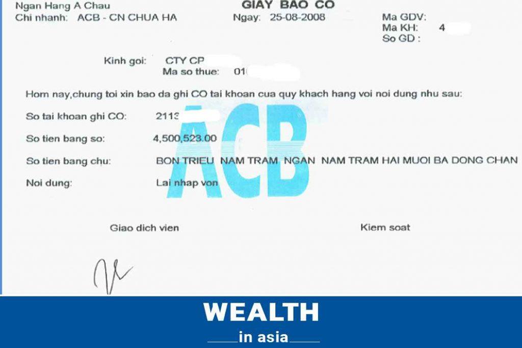 Phân biệt giấy báo nợ và giấy báo có của ngân hàng