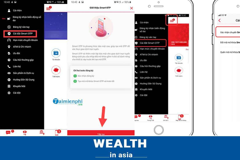Cách lấy lại mã Smart OTP Techcombank khi mất sim