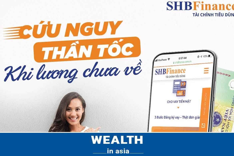 Hướng dẫn vay tín chấp SHB Finance